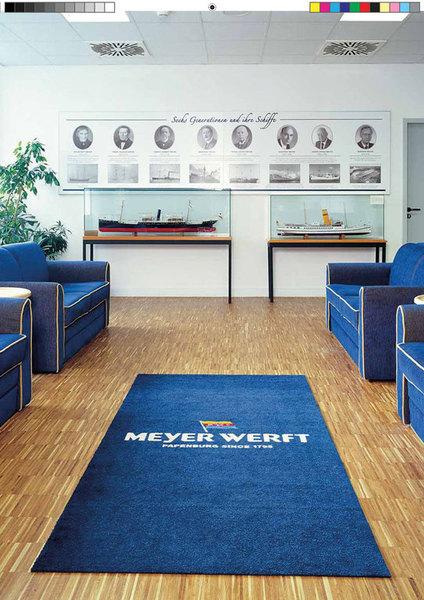 teppich bedrucken cheap bedruckter teppich logomatten oder bedruckte werbematte with teppich. Black Bedroom Furniture Sets. Home Design Ideas